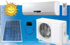 100% solar air conditioner solar power DC solar sun energy air-conditioner