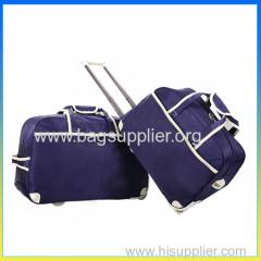 super light trolley bag set