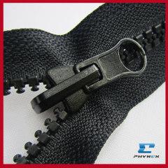 reverse coil zipper plastic zipper