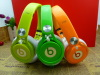 AAAA+ beats neon mixr colorful by dre headphones for iphone/ipad/ipod/MP3/MP4/phones with serial NO. and white cable