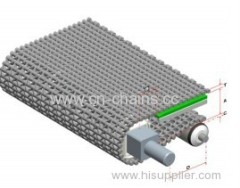 400B Modular plastic conveyor belt for machinery (10mm) pitch