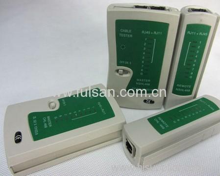 Portable RJ45 RJ11 RJ12 CAT5 UTP NETWORK USB LAN CABLE TESTER