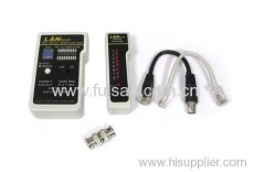 5 in 1 Cable Tester for UTP STP RJ45 RJ11 RJ12 BNC USB & IEEE1394