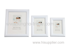 White PVC Extruded Photo Frame