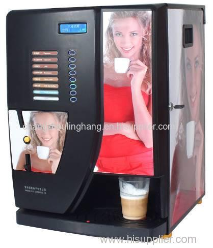 8-Selection Instant Coffee Vending Machine