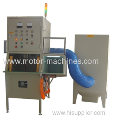 2 POLES COMMUTATOR MOTOR STATOR COIL POWDER COATING MACHINE