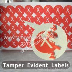 Custom Destructible Label Printing