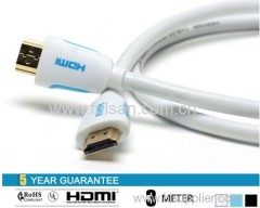 HDMI Cable 24K gold plated high Speed full 3D 1920P 1M 2M 3M 5M 10M 20M 30M 40M 50M