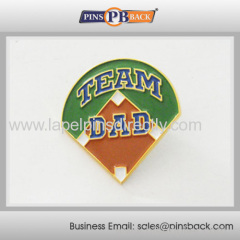 Custom shape soft enamel pin badge / high quality custom pin badge / metal lapel pin