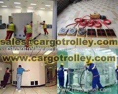 Air rigging systems applied on moving and handling works