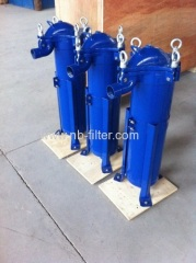 Carbon Steel liquid Bag Filter Housings