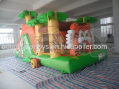 Tiger Inflatable Combo Slide