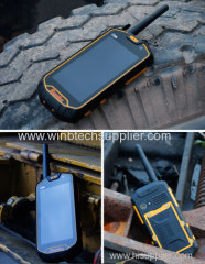 winbtech wonbtecQ5 Ru-gged Waterproof Smartphone with walkie talkie waterproof phone