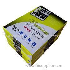 Wood Pulp 80GSM A4 Copy Paper A4 Paper