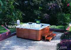 Acrylic outdoor spa hot tub;hydro spa hot tubs;
