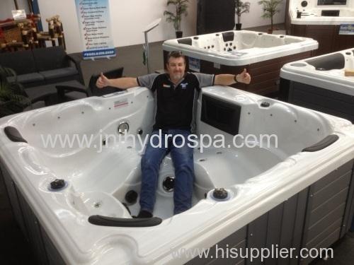 Acrylic outdoor spa hot tub;5 person outdoor hot tubs;