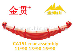 CA151 truck and trailer auto part leaf spring front assembly