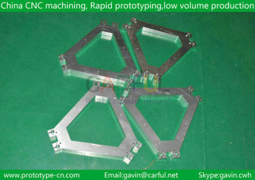 Aluminum products and high precision parts