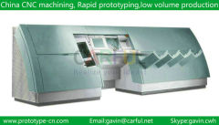 High precision cnc machining rapid prototype part