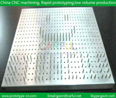 CNC processing of radiator Batch processing
