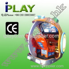 COIN OPERATE POWER STORM ARCADE DRIVING MACHINE