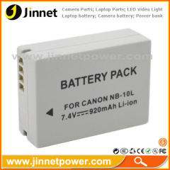 For Canon PowerShot G1 X camera battery NB-10L