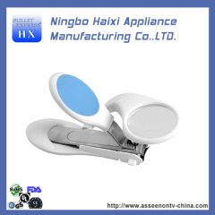 Plastic covered Stainless Steel Nail Clipper