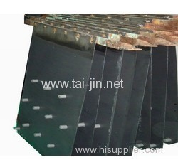 Titanium substrate with MMO coated anode for hydrometallurgy