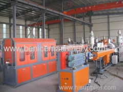 PE pipes production line