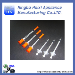 BEST DISPOSIBLE insulin syringes WITH FDA AND UL