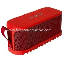 Solemate Mini Bluetooth Portable Music Speaker with NFC Red