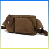 2014 trendy canvas fanny pack multifunctional pouch waist bag