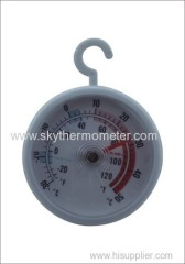 Hanger type refrigerator thermometer