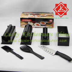 Sushezi rice mold making set with knife