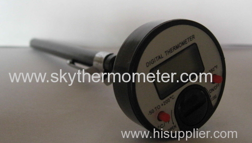 Insert Dial Hygrometer thermometer