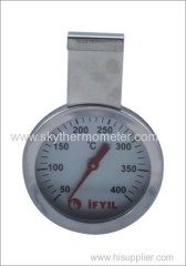 Hanger type oven thermometer