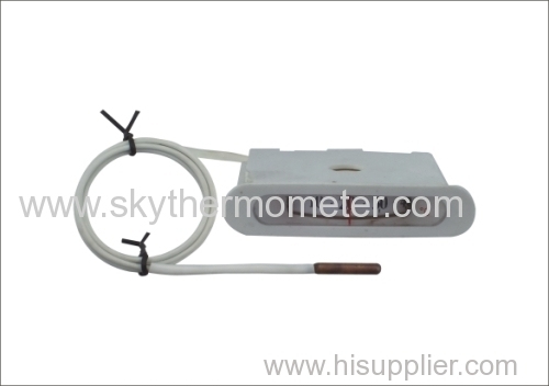 Square capillary thermometer