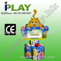 2014 HAPPY CAT BALL REDEMPTION GAME MACHINE