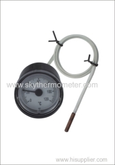 Water boiler capillary thermometer