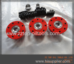 Double studded flange adapter as per API6A