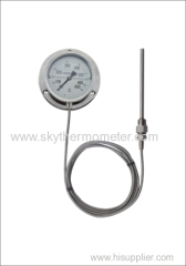 SS case capillary thermometer