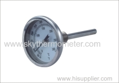 SS case back connection thermometer