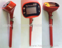 BBQ use digital thermometer