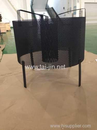 Basket titanium MMO mesh anode
