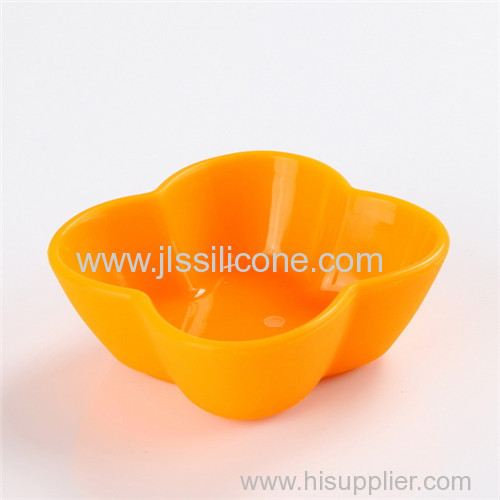 Silicone baking saucers bowl