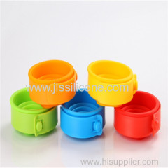 Silicone customized collapsible cups