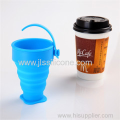 Customized collapsible silicone cups