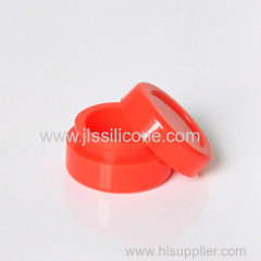 Silicone rubber wax container