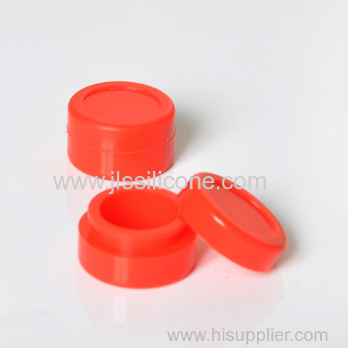 Silicone jar wax container