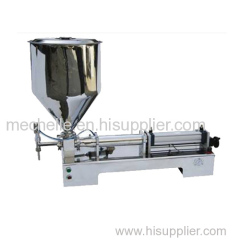 G1WGD single nozzle pneumatic paste&liquid filling machine for jam
